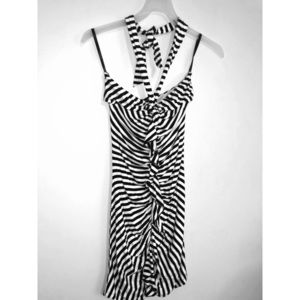 Striped Bebe summer dress